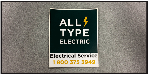 Creating and installing highly professional corporate identity decals is one of our custom sign services in edmonton we have been successfully serving the